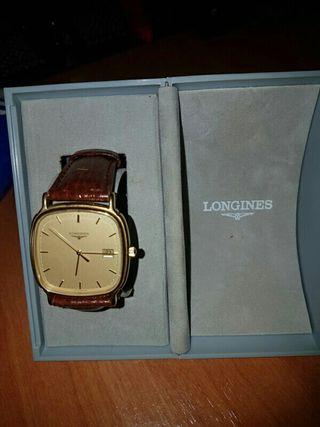 Reloj De Oro Longines De Segunda Mano En Wallapop