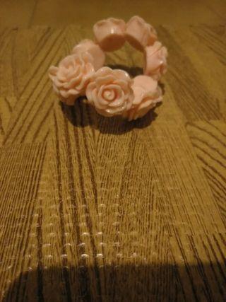 pulsera rosas