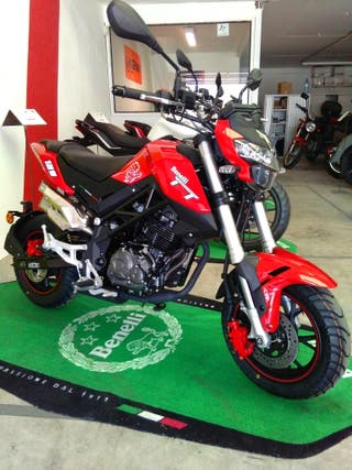 Benelli TNT 125 Mini Tornado - Color rojo