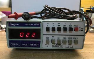 Amperimetro Simpson 461