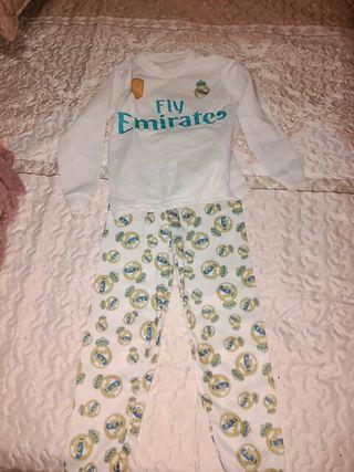 pijama real Madrid a estrenar