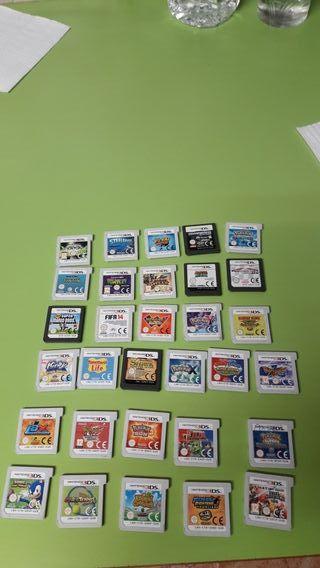 Juegos consola 3DS
