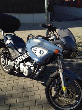 Moto BMW Scarver