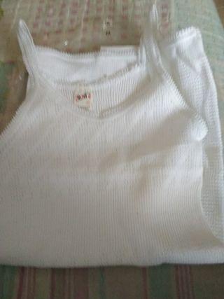 camiseta interior de niña talla 10 nueva a estren