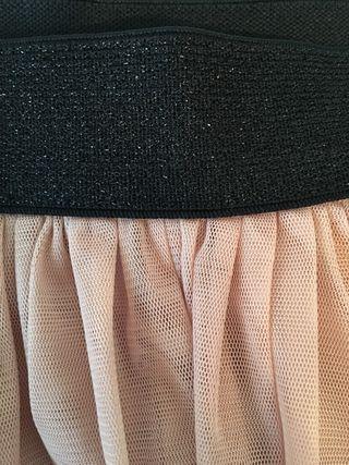 Segunda Tul Zara Mujer Falda De 10 Por Mano Iwqdwx1a