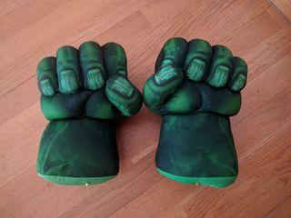 Puños de Hulk con sonido