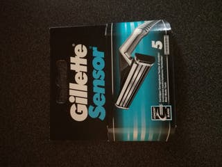 Pack 5 Recambios Gillette Sensor