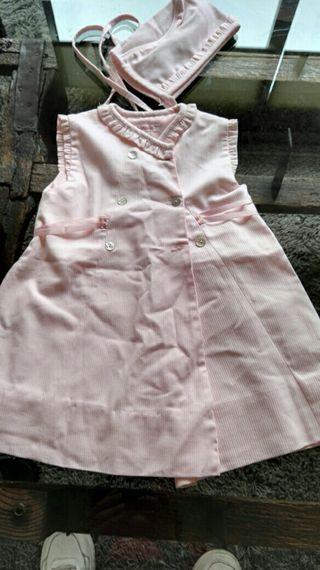 vestido 2 años niña