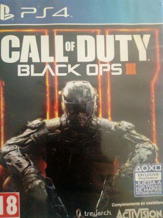 juego de ps4 call of duty black ops 3