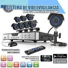 kit de 16 cámaras de vigilancia completo
