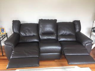 Sofa italiano de piel ( 3200€ hace 2 años)