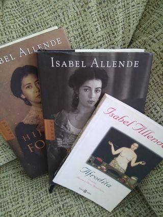 lote libros Isabel Allende