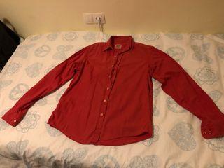 Camisa hombre roja XDFE