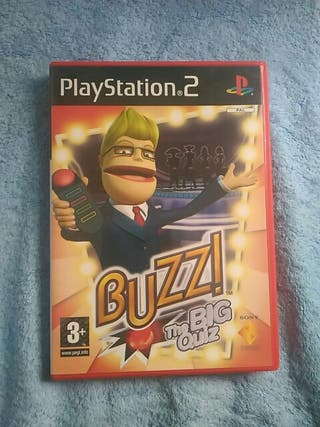 Buzz the big quiz videojuego playstation 2
