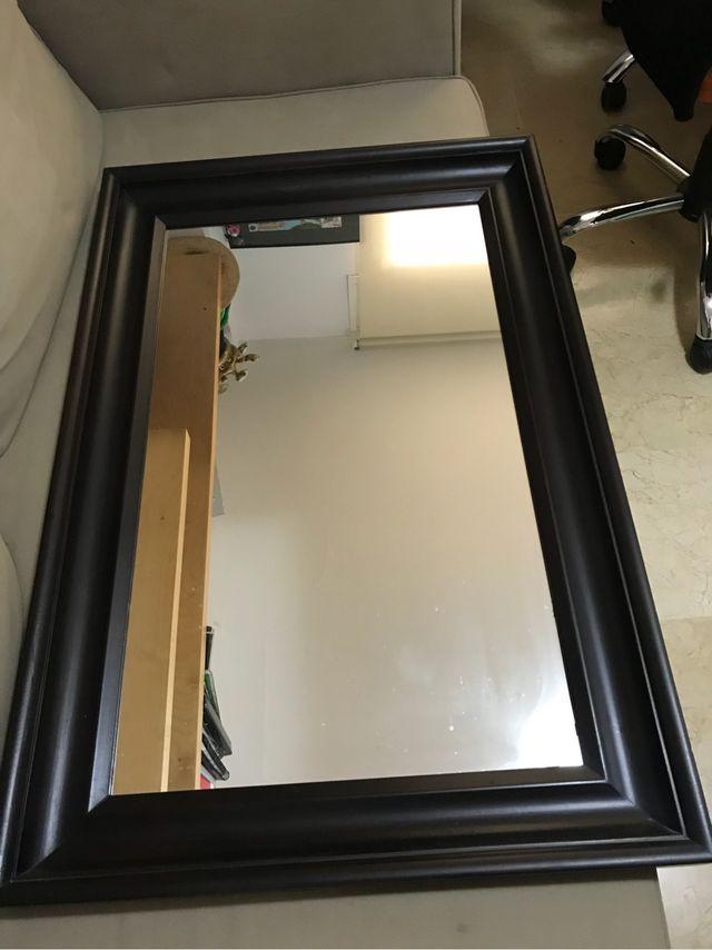 Espejo marco madera de segunda mano por 35 € en Palma de Mallorca en ...