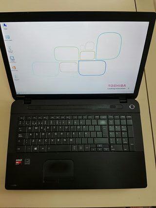 "Ordenador portatil Toshiba C70DA 17"" AMD A4"