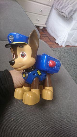 juguete patrulla canina con disparos