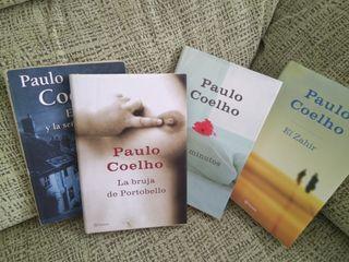 lote libros tapa dura de Paulo Coelho