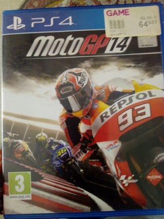 juego de ps4 las moto gp 2014