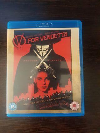 V for Vendeta NUEVO BlueRay con regalo DVD dibujos