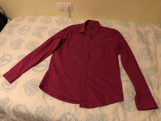 Camisa hombre rosa Sfera