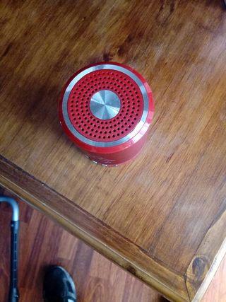 altavoz Bluetooth y radio