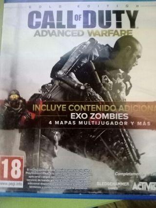 juego de ps4 call of duty advance warfare