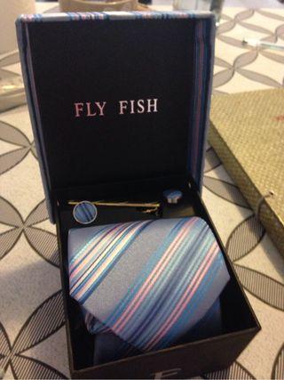 Conjunto corbata gemelos sujet