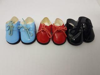 Zapatos para muñecas 8cm