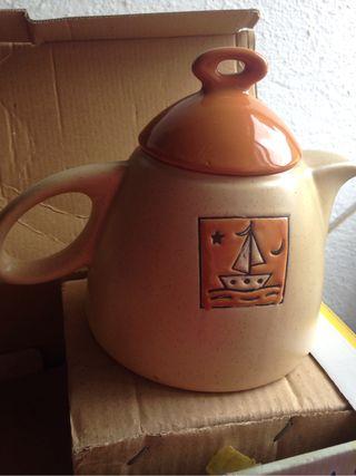 Juego de té 15 piezas nuevo