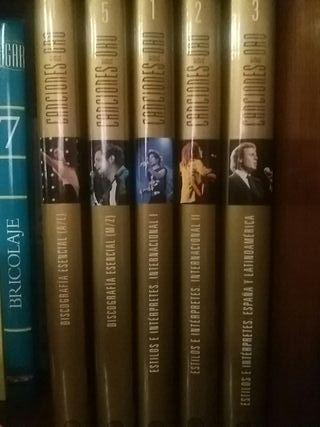 colección de 5 tomos