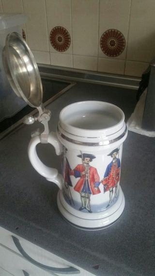 jarra cerveza alemana