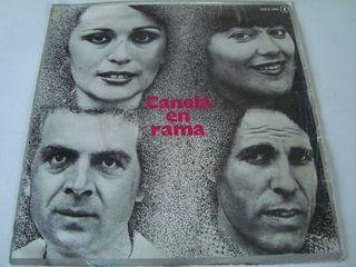 CANELA EN RAMA-.LA NOCHE NOS OFRECE- SINGLE VINILO
