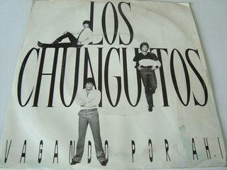 """LOS CHUNGUITOS -.VAGANDO POR AHI- SINGLE VINILO 7"""""""