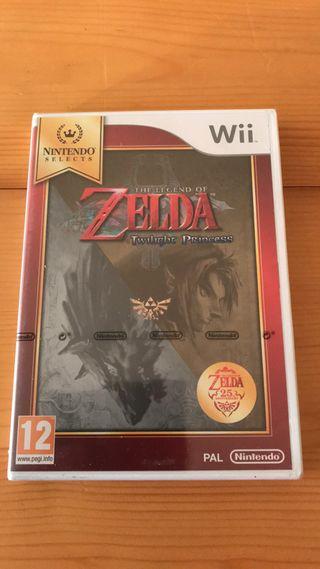 Juego Zelda Twilight Princess para Wii PRECINTADO