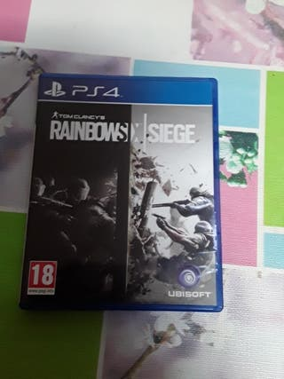 Tom Clancy's Rainbows Siege Ps4