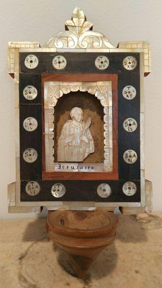 jesus madera olivo nacar Jerusalén