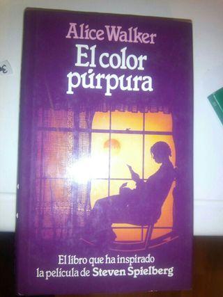 Libro El color púrpura de Alice Walker