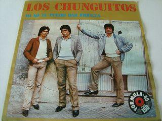 LOS CHUNGUITOS-.YO NO TE PUEDO DAR RIQUEZA- VINILO