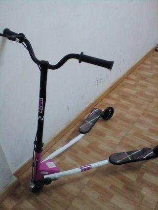 patinete tres ruedas niña