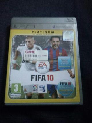 fifa10 platinum ps3