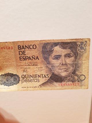 DE ESPAÑA 500 PESETAS .