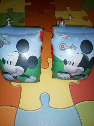 Manguitos Mickey mouse