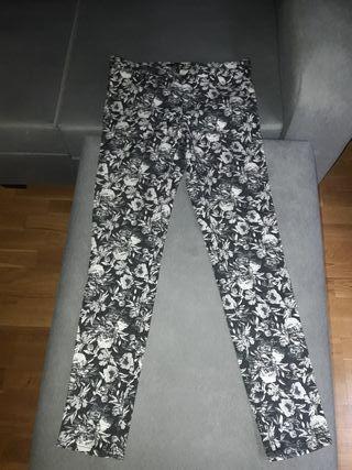 pantalon estampado mujer