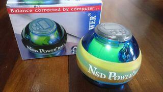 NSD Power Ball azul y amarilla