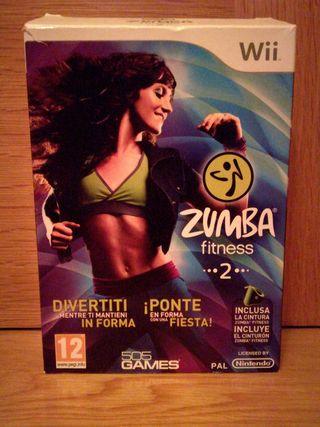 Zumba para la Wii y Wii u