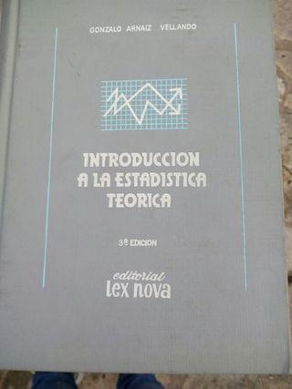 libro de estadística
