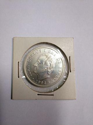 moneda 2000 ptas 1994 plata