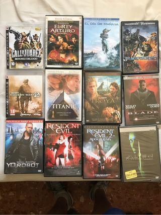 Peliculas en dvd