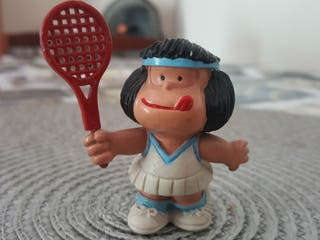 figura mafalda antigua pvc antiguo de comic spain